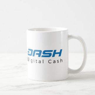 Dash Digital Cash Logo Symbol Crypto Coffee Mug