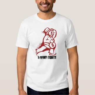 Dash for Cash Red, iLL-Defined Etiquette Tee Shirts