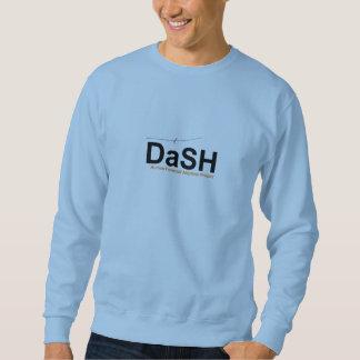 DaSH Sweatshirt, Light Blue, Large Logo Sweatshirt