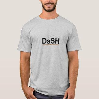 DaSH T-Shirt,  Grey, Large Logo T-Shirt