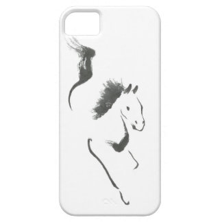 Dash to Safety, Sumi-e Year of the Horse iPhone 5 Cases