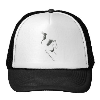 Dash to Safety, Sumi-e Year of the Horse Trucker Hat