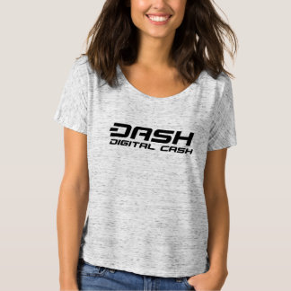 Dash Womens T-Shirt Digital Cash