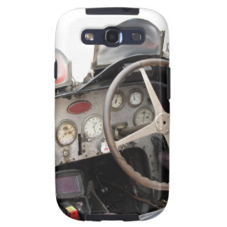 Dashboard and steering wheel of classic sport car samsung galaxy s3 cases