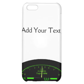 Dashboard Glow with Black Frame iPhone 5C Cover