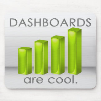 Dashboards Are Cool Mouse Mat