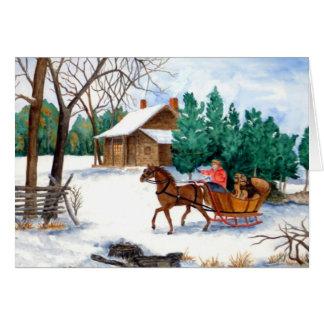 Dashing the Fab 2 Christmas Card