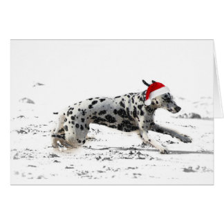 Dashing Through the Snow Card