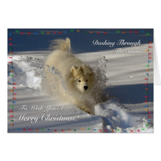 Dashing Through The Snow - Christmas Card