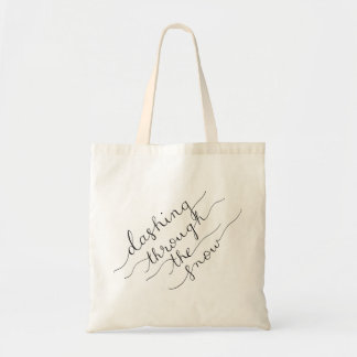 Dashing Through the Snow Reusable Tote