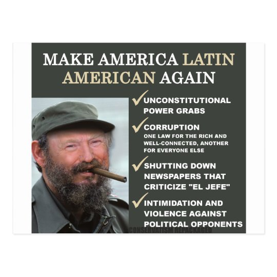 Dastro: Make America Latin American Again Postcard