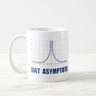 Dat Asymptote Basic White Mug