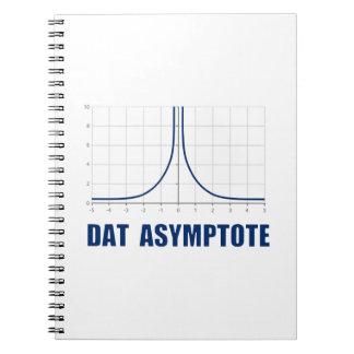 Dat Asymptote Spiral Notebooks