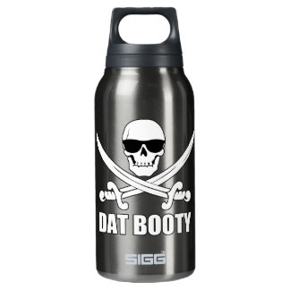 Dat Booty Funny Pirate Insulated Water Bottle