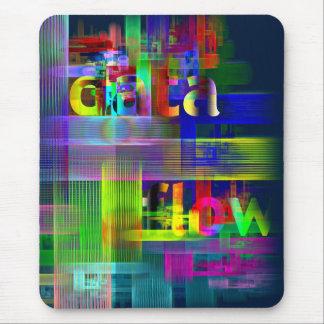DATA flow Mouse Pad