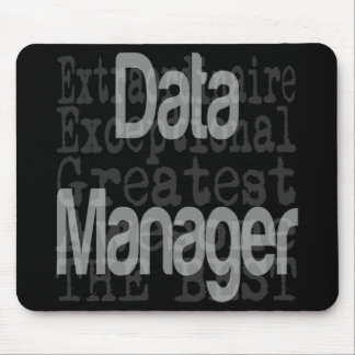 Data Manager Extraordinaire Mouse Pad