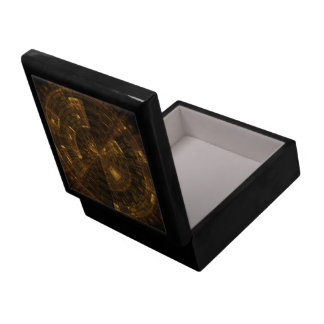 'Data Mining' Fractal Abstract Gift Box