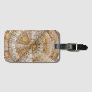 'Data Mining' Fractal Abstract Luggage Tag