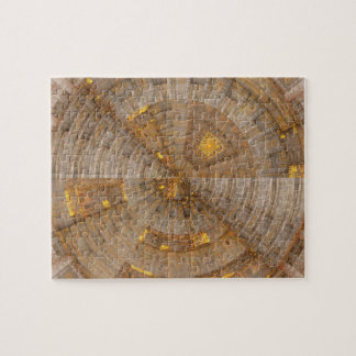 'Data Mining' Fractal Abstract Puzzle