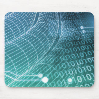 Data Network Mouse Pad