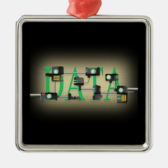 Data Security Christmas Ornament