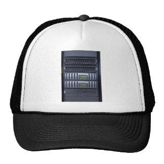 datacenter computer servers rack hat