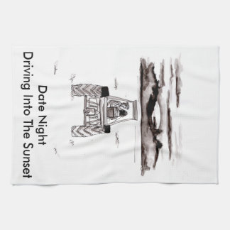 Date Night Kitchen Tea Towel