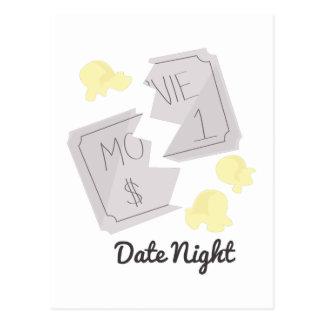 Date Night Postcard