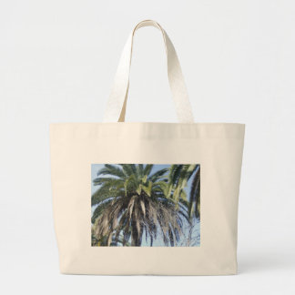 Date palm in Malaga Canvas Bag