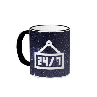 Date Weeks Icon Ringer Mug