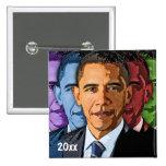 Dated Collectable Barack Obama Keepsake Souvenir Pinback Button