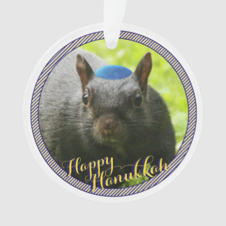 Dated • Happy Hanukkah • Funny Jewish Squirrel