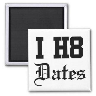 dates square magnet