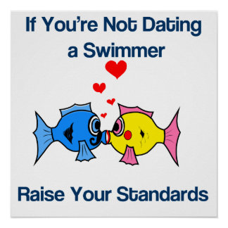 Dating a Swimmer Poster