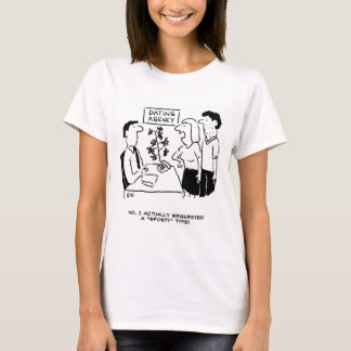 """Dating Agency - She wanted a """"Sporty"""" type T-Shirt"""