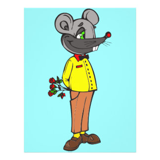Dating Mouse 21.5 Cm X 28 Cm Flyer