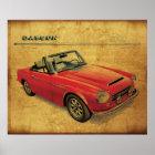 Datsun 2000 Fairlady Poster
