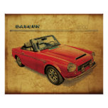 Datsun 2000 Fairlady Posters