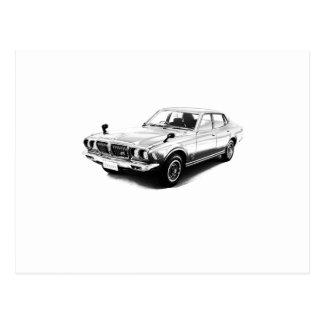 Datsun Bluebird 610 2000GTX 1974 Postcards