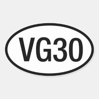 Datsun Nissan VG30 Engine Sticker