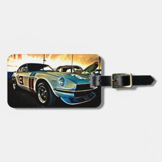 Datsun Z Race car Luggage Tag