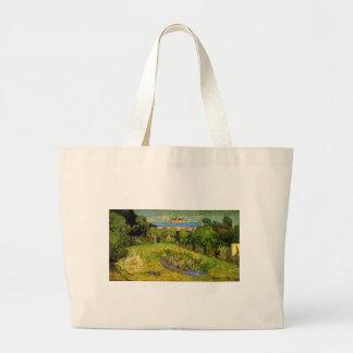 Daubigny's Garden  by Vincent van Gogh Tote Bags