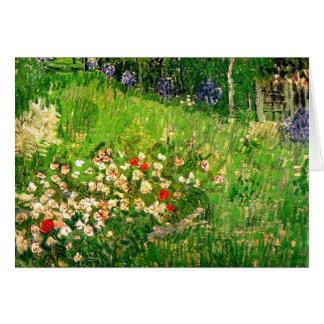 Daubigny's Garden Van Gogh Fine Art Greeting Card