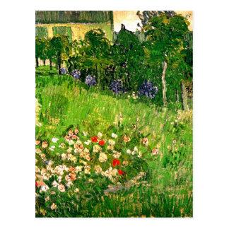 Daubigny's Garden Van Gogh Fine Art Postcard