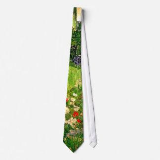 Daubigny's Garden Van Gogh Fine Art Tie