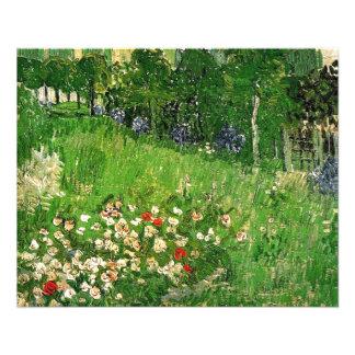 Daubigny's Garden, Vincent Van Gogh. beautiful 11.5 Cm X 14 Cm Flyer