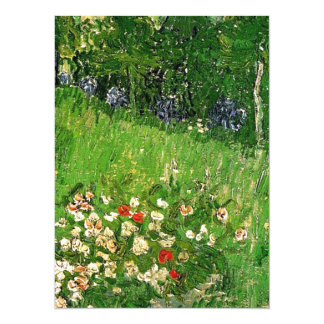 Daubigny's Garden, Vincent Van Gogh. beautiful 14 Cm X 19 Cm Invitation Card