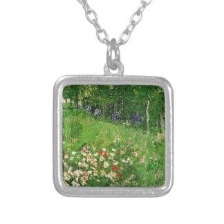 Daubigny's Garden. Vincent van Gogh. beautiful Silver Plated Necklace