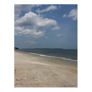 Daufuskie Beach Postcard