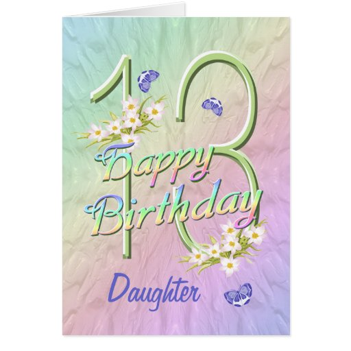 13th Birthday Cards, Photo Card Templates, Invitations & More